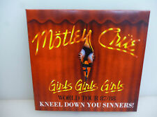 MOTLEY CRUE-KNEEL DOWN YOU SINNERS. PROVIDENCE, USA 1987-CD DIGIPACK-NEW.SEALED.