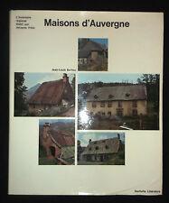 Maison d'Auvergne  J.L. Baritou - L'inventaire régional établi par J. Fréal 1975