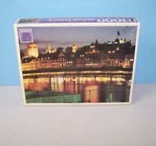 New Luzern, Switzerland At Night City Scape 1000 Pcs Jigsaw Puzzle