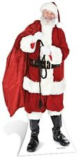 Santa with Sack of Toys Cardboard Cutout Figure 180cm Tall -Xmas Party Fun