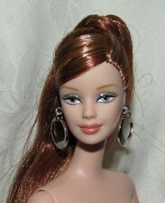 NUDE BARBIE DOLL MACKIE LONG PONYTAIL RED HAIR BLONDE FOR OOAK
