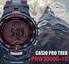 Casio Protrek Triple Sensor V3 Multiband 6 Tough Solar Watch PRW3000G-1D