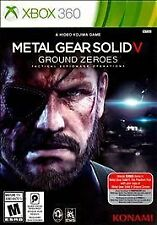 Metal Gear Solid V: Ground Zeroes -- (Microsoft Xbox 360) New