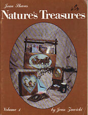 Jean Shares Nature's Treasures Tole Book by Jean Zawicki~OOP