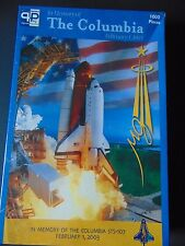 Columbia Spaceship Puzzle Sealed 1000 piece In Memory of Feb 1, 2003  STS-107