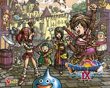 POSTER DRAGON QUEST WARRIOR AKIRA TORIYAMA DRAGON BALL SLIME MANGA ANIME #6