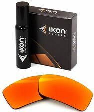 Polarized IKON Iridium Replacement Lenses For Oakley Gascan Fire Mirror
