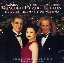 BOLTON,MICHAEL / DOMINGO,PL...-MERRY CHRISTMAS FROM VIENNA  CD NEW
