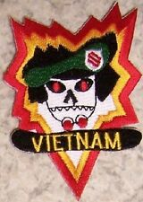 Embroidered Military Patch Vietnam Mac V Sog Military Assistance Command NEW #1