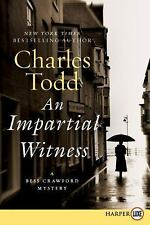 Impartial Witness LP, An: A Bess Crawford Mystery-ExLibrary