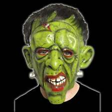 Halloween Frankenstein Mask With Hair Latex Mask Scary Party Fancy Dress