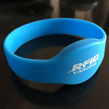 5 PCS Silicone MIFARE Classic 1KB ISO 14443A NFC rfid wristband with our logo