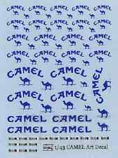 DECALS ACU STION 1/43 F1 CAMEL ART DECAL (1990's~)