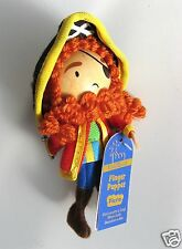 "LONG JOHN SILVER - WOODEN HEADED ""TELL A TALE"" FINGER PUPPET FIESTA CRAFTS - NEW"