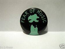 Talking Heads Fear of Music Promo Button Pin 1979