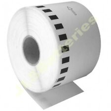 10 x 62mm CONTINUOUS ROLLS Only DK22205 580N 1050 1060N Brother DK-22205 Labels