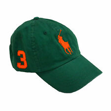 Polo Ralph Lauren Big Pony Hat Ball Cap Baseball Mens One Size Classic Prl New