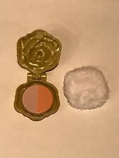 "American Girl 18"" Doll Tenney Grant Stage Dressing Room Makeup Compact Puff ONLY"