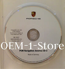 03 2004 PORSCHE 911 CARRERA 4 4S CAYENNE S NAVIGATION CD MAP 3 TX OK LA MO AR KS