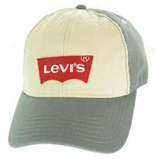 Levi's Men's Hat Baseball Cap OS Grey New 100% Cotton Limited LAFO