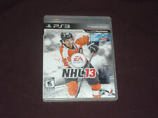 NHL 13 (Sony PlayStation 3, 2012)  COMPLETE