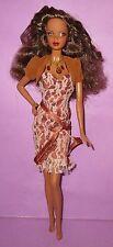 Barbie Steffie PJ Brown Curls AA Birthstone Beauties Model Muse Doll OOAK Play!