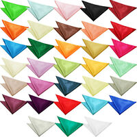 DQT HIGH QUALITY PLAIN MENS  HANDKERCHIEF / HANKY
