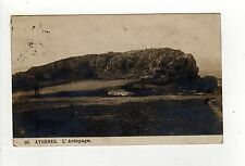 1907 ATHENS GREECE RPPC Real Photo Postcard ATHENES L'Areopage GREEK Areopagus