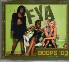 (BP136) FYA, Boops '03 - 2003 DJ CD