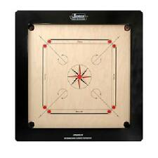 Surco Champion 20mm Carrom Board with Coins and Striker - Complete Set