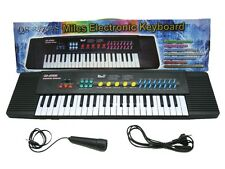 New Electronic Musical Keyboard Organ 44 Keys Piano With Mic Adopter 3738s