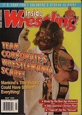 The Wrestler May 1999 Mankind, Bill Goldberg, Eddy Guerrero EX 012116DBE