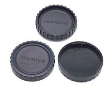Three Cap Combo Includes 1 Camera Body Cap 2 Rear Lens Caps Mamiya M645 645 NEW