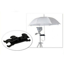 Photographic Umbrella Holder Clip Clamp Tripod Light Stand Mini Gadget G1BG