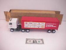 VINTAGE 1985 Campbell's Soup Co. Pressed Steel Food Advertising Truck
