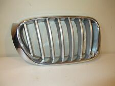 BMW X3  2014 14 RIGHT UPPER GRILLE CHROME WITH SILVER STRIPS  51117210726