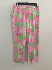 Lilly Pulitzer Ankle Length Pants ELEPHANT / JUNGLE Size 8