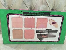 Benefit Real Cheeky Party Blush Palette + Mascara Liner SEALED BNIB $116 Value