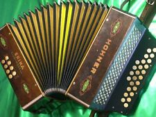 Made in Germany HOHNER ERIKA Diatonic Button Accordion