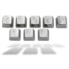 Keyset Zinc CS 8 key caps  Cherry MX Keycap Metal mechanical keyboard Key Cap