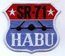 US Air Force Lockheed SR-71 HABU Patch CIA Vietnam Skunkworks Supersonic Cuba