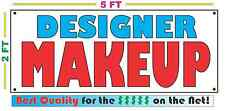 DESIGNER MAKEUP Full Color Banner Sign NEW XXL Size Best Quality for the $$$$