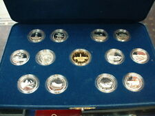 CANADA  SILVER QUARTER PROOF SET 1867-1992  *13 coins*