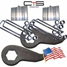 "Lift Kit Chevy Torsion Keyways 3""  Blocks 99-06 Silverado Sierra 4x4"