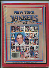 New York Yankees 1984 Official Yearbook  35th Annual Edition  MBX21
