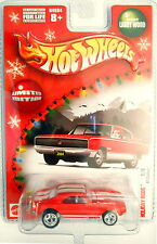 2004 HOT WHEELS HOLIDAY RODS REAL RIDERS RED '67 CAMARO