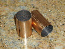 New Ford flathead 1935-38 brake & clutch pedal shaft brass bushing set 48-7526