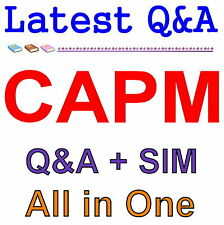 Certified Associate in Project Management CAPM Exam Q&A PDF+SIM