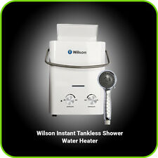 Best Portable Outdoor RV Camper Camping Shower Propane Tankless Hot Water Heater