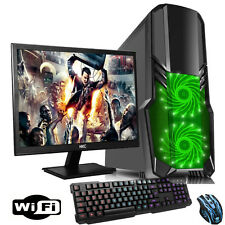 "SCHNELL 3,70 ghz Dual Core AMD 19"" Desktop Gaming PC Bündel 4GB 1TB WI-FI p7"